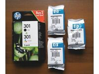 HP 301 Ink Cartridges for sale.