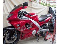 Yamaha YZF 600 Thundercat Aero Supersport £1500