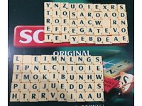Original Scrabble Letters/Tiles/Craft/Upcycle