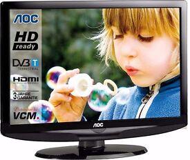 AOC L32WB81 32 Inch LCD Freeview TV + Original Remote