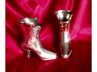 BRASS VICTORIAN STYLE BOOTS