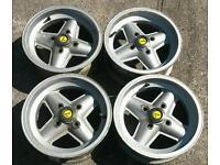 Ford revolution alloys competition wheels mk2/mk1 escort fiesta capri kit car anglia rare from 70's