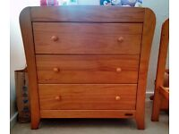 NOW SOLD SORRY. Mamas & Papas wardrobe and drawers collect this week