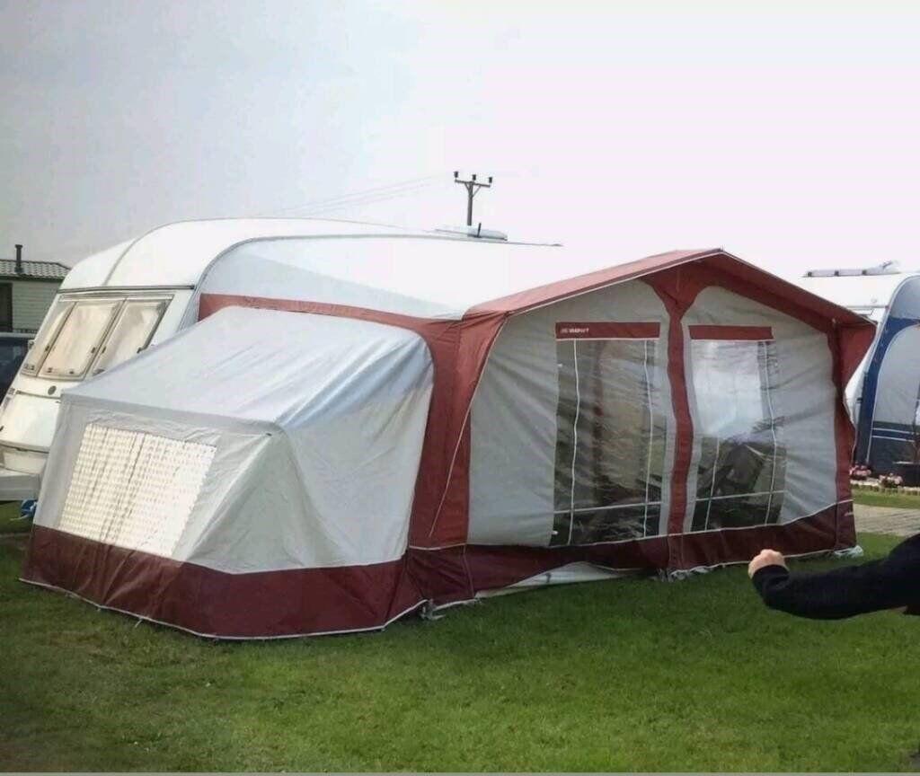 Bradcot Sandringham Full Caravan Awning c/w annexe u0026 inner tent & Bradcot Sandringham Full Caravan Awning c/w annexe u0026 inner tent ...