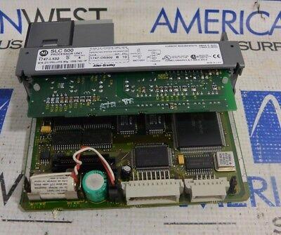 Allen Bradley Slc 500 1747-l532 Series D Proc. Rev 4 Processor Unit