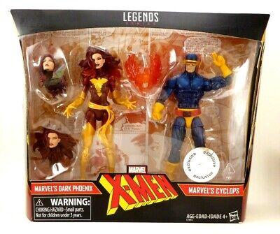 MARVEL LEGENDS DARK PHOENIX & CYCLOPS TOYS R US EXCLUSIVE TRU X-Men New Sealed