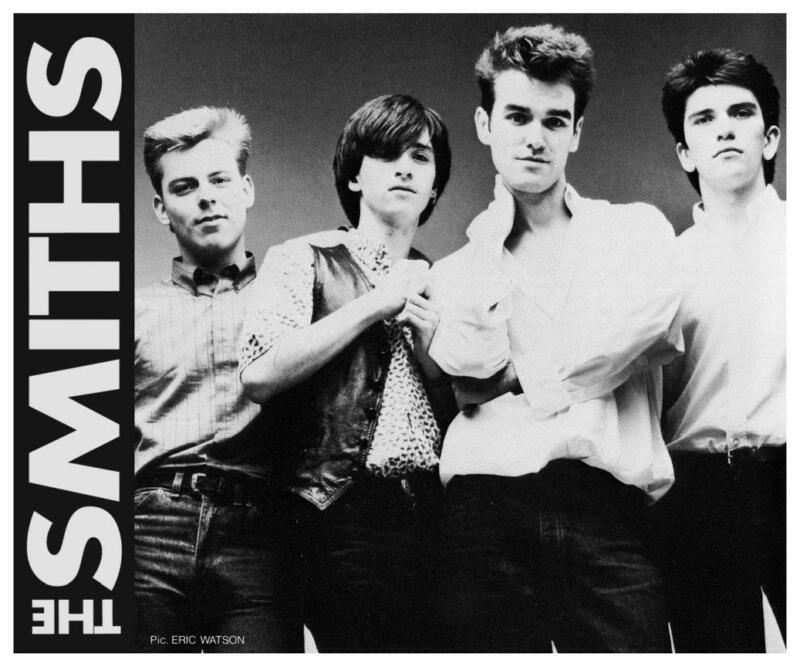 the Smiths - LARGE POSTER - Johnny Marr Morrissey Andy Rourke Mike Joyce