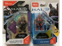 Mega Halo Heroes SERIES 7 Jul Mdama And Series 6 ShipMaster FMM72 /& FMM78