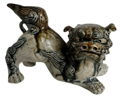 Vintage Foo Dog 60 Plus Years Old Green and Gorgeous Excellent Condition!