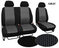 Para Volkswagen T5 Alta Calidad Apto Funda De Asiento En El Diseño Vip Gris - volkswagen - ebay.es