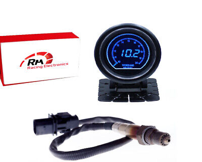 UEGO Air Fuel Ratio AFR Controller Wideband KIT Bosch LSU 4.9 Probe With Gauge