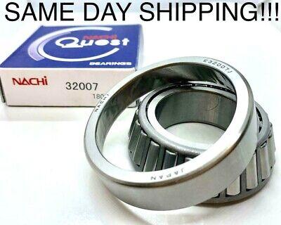 32007 Nachi Tapered Roller Bearings Japan 35x62x18mm Same Day Shipping