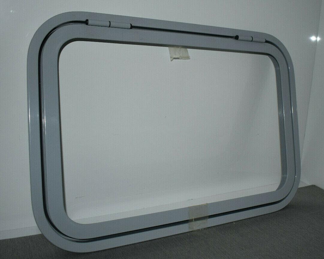Klappenrahmen Serviceklappe 420 x 620mm grau RAL 7040