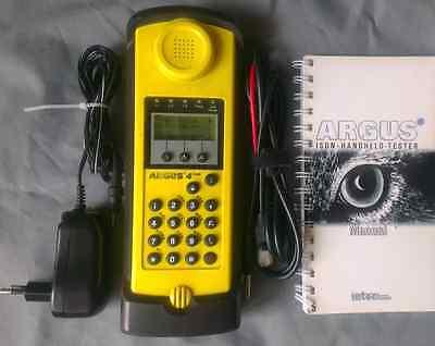 Intec Argus 4 DSL / ISDN / Analog Prüfhörer Prüftelelefon  (3U 3T, T-COM)