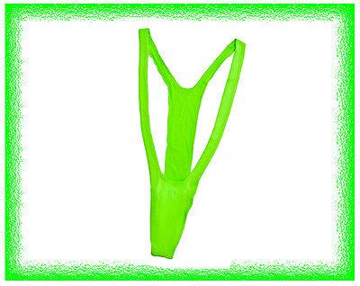 Mankini Badeanzug Borat Badehose Tanga String Männer Bikini - Grünen Anzug Kostüme