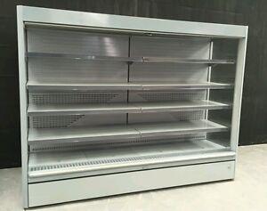 Refrigerated Shop Display Chiller Fridge Multideck 8f