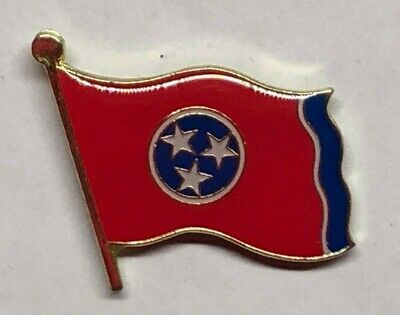 TENNESSEE FLAG ~ LAPEL PIN / HAT PIN  JACKET -