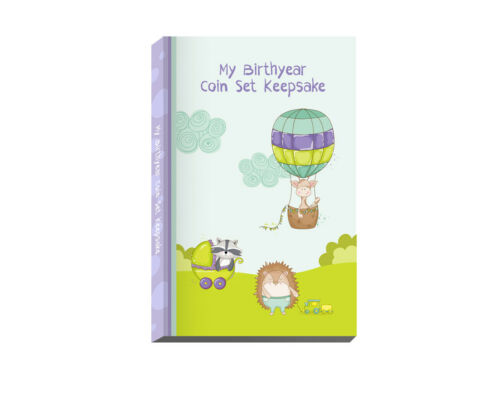 Baby Birthyear Coin Set Keepsake - 2021 Coins Included