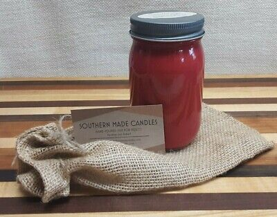 Candle Flannel Sheets Scented Hand Poured Soy Wax 16oz 120 Hours Burn - Scented Sheets