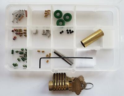 Schlage 5 Pin Cutaway Lock Kit You Build A Lock Practice Lock Kit