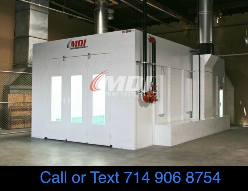 NEW SIDE DOWN DRAFT PAINT SPRAY BOOTH MADE IN THE USA