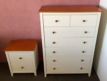 Tallboy 7 drawers and matching bedside table. Excellent condition. Ryde Ryde Area Preview