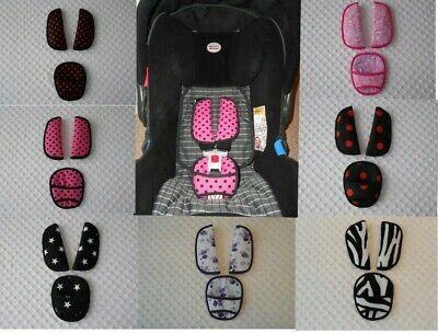 Baby Straps & Crotch cover fit maxi cosi cabriofix car seat shoulder Belt Pads (Maxi Cosi Car Seat Shoulder Strap Pads)
