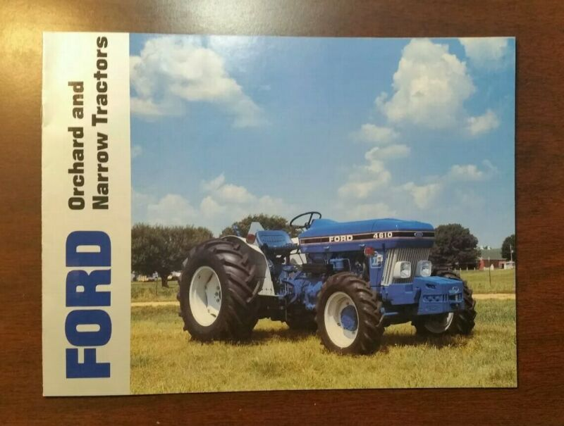 Ford Orchard And Narrow Tractors 4610 Brochure