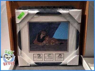 art of Disney LION KING Sericel SCHEMING SCAR ( 500-piece Deluxe ) EDITION cel