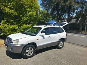 2004 Hyundai Santa Fe SUV 4WD with 3 months rego   OPTIONAL ROOF TENT Botany Botany Bay Area Preview