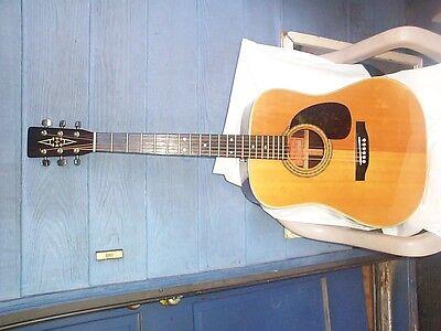 Vintage Alvarez Acoustic Guitar 5023