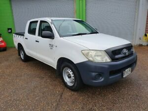 2009 Toyota Hilux Workmate 2.7L 4 Cylinder Dual Cab MANUAL Lambton Newcastle Area Preview