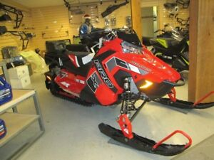 2018 Polaris Industries 800 Switchback® PRO-X Snow check  Red on
