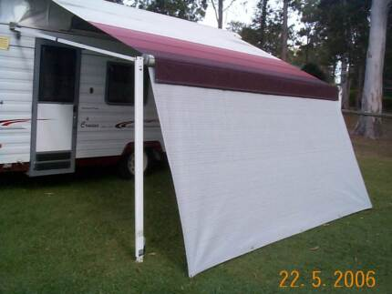 Shade Curtain for Your caravan R/out Awning - Made to any size