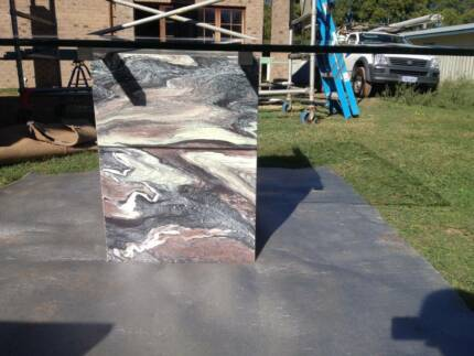 Glass and Marble Dining Table Dunsborough Busselton Area Preview