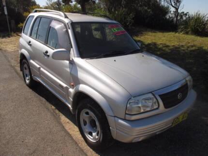 2001 Suzuki Grand Vitara 4 CYLINDER, REGO, 184K MANUAL Redhead Lake Macquarie Area Preview