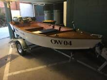 Wooden fishing boat powered Murwillumbah Tweed Heads Area Preview