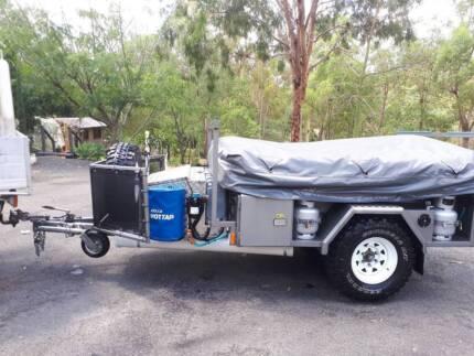 Austrack camper trailer. Extreme.