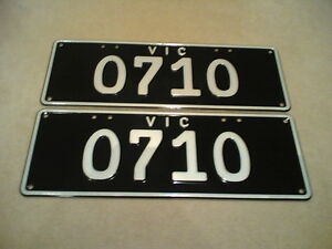 Custom Mix Number Plate South Melbourne Port Phillip Preview