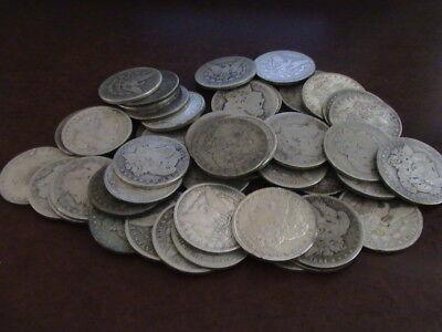 1878 - 1904 Morgan Silver Dollar, cull grade          L128