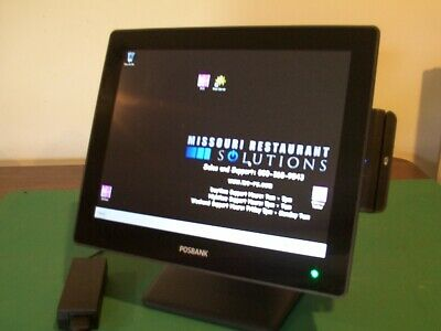 Posbank Apexa G Pos Terminal W Power Supply And Msr Excellent