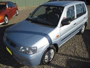 2002 Mazda 121 Metro LOW KILOMETRES 6 MONTHS REGO Redhead Lake Macquarie Area Preview