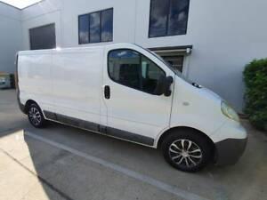 2013 Renault Trafic 2.0 Dci Lwb 6 Sp Manual 2d Van