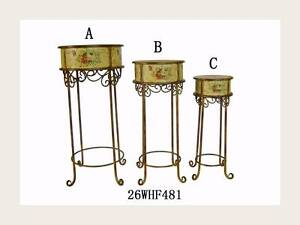 set of three French style hand painted stand Westmead Parramatta Area Preview