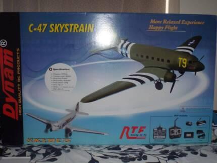 C-47 remote controlled plane