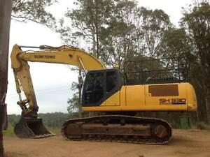 Excavator Sumitomo SH330-5 Gympie Gympie Area Preview