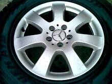 MERCEDES BENZ ML 17X7,5  SUV 4X4 WHEELS AND TYRES,,PCD 5X112 Elizabeth Town Meander Valley Preview