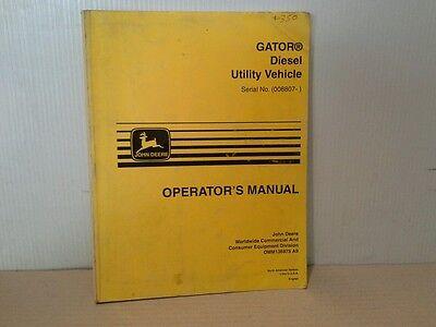 John Deere Amt 626 Transporter Atv Operators Manual Spanishenglish Ser. 008807