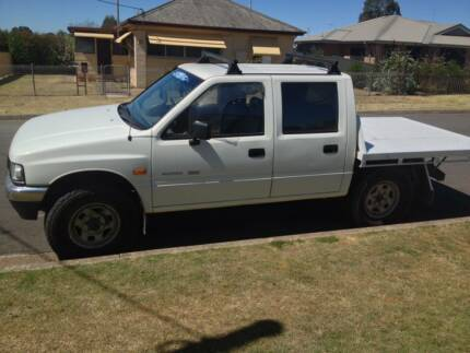 Hloden rodeo 4x4