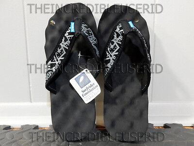Gravis Soundcheck Sandals Men's 8 Black Flip Flops Beach Pool Slippers NICE BRO! Gravis Flip Flops